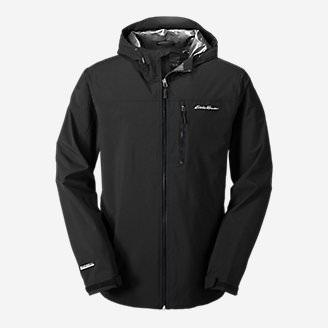 Men's Cloud Cap 2.0 Stretch Rain Jacket in Black