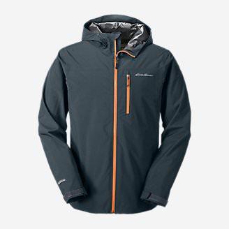 Men's Cloud Cap 2.0 Stretch Rain Jacket in Blue