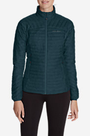 Women's MicroTherm® StormDown® Jacket in Green