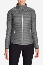 Women's MicroTherm® StormDown® Jacket in Gray