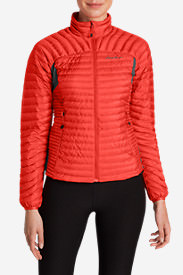 Women's MicroTherm® StormDown® Jacket in Red