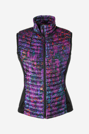 Women's MicroTherm® StormDown® Vest in Purple