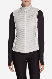 Women's MicroTherm® StormDown® Vest in Gray