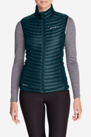 Women's MicroTherm® StormDown® Vest in Green