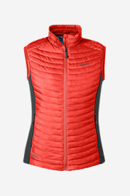 Women's MicroTherm® StormDown® Vest in Red