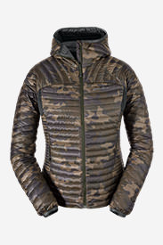 Women's MicroTherm® StormDown® Hooded Jacket in Green