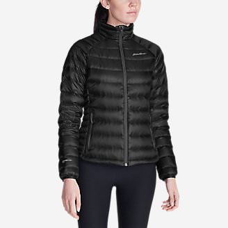 Women's Downlight StormDown Jacket in Black
