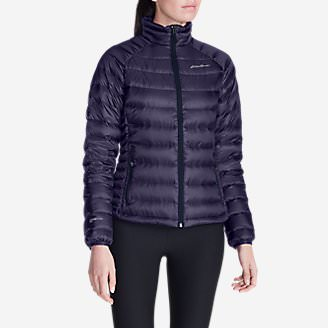 Women's Downlight StormDown Jacket in Purple