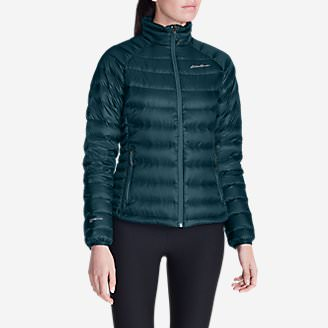 Women's Downlight® StormDown® Jacket in Green