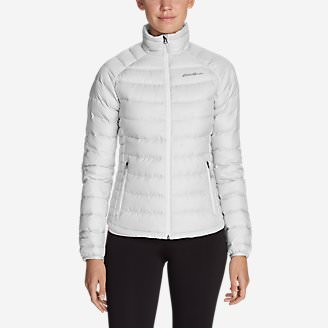 Women's Downlight StormDown Jacket in White