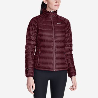 Women's Downlight StormDown Jacket in Red