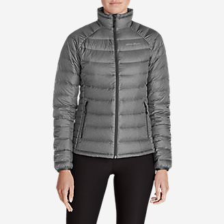 Women's Downlight StormDown Jacket in Gray