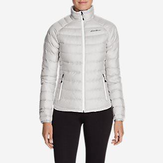 Women's Downlight StormDown Jacket in Gray