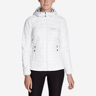 Women's IgniteLite Reversible Hooded Jacket in White
