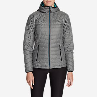 Women's IgniteLite Reversible Hooded Jacket in Gray