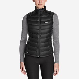 Women's Downlight StormDown Vest in Black
