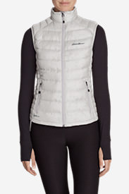 Women's Downlight® StormDown® Vest in Gray