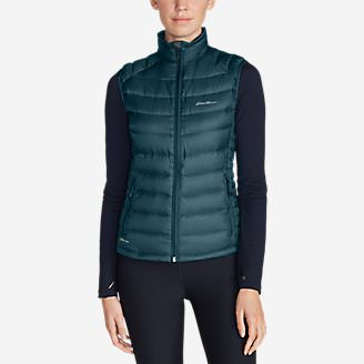 Women's Downlight StormDown Vest in Green