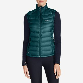 Women's Downlight® StormDown® Vest in Blue