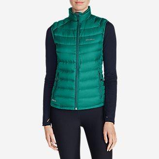 Women's Downlight® StormDown® Vest in Green