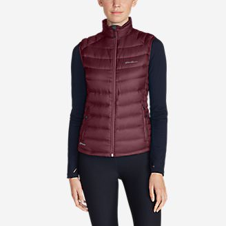 Women's Downlight StormDown Vest in Red