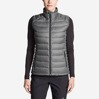 Women's Downlight StormDown Vest in Gray