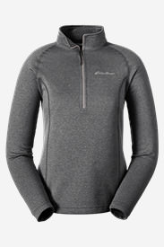 Women's High Route Fleece Pullover in Gray