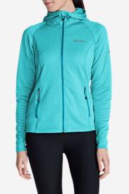 Women's High Route Fleece Hoodie in Blue