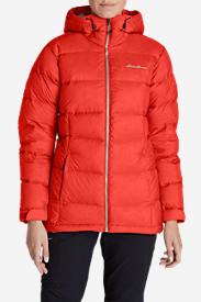 Women's Downlight Alpine Jacket in Red