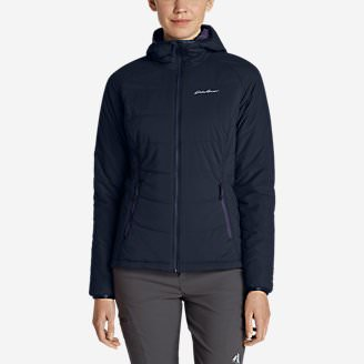 Women's IgniteLite Flux Stretch Hooded Jacket in Blue