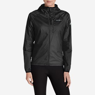 Women's Uplift Windshell in Black