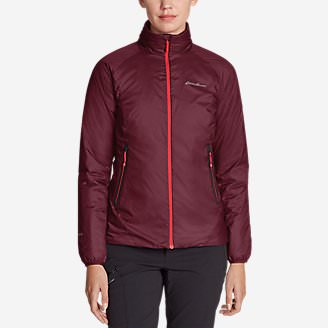 Women's EverTherm Down Jacket in Red