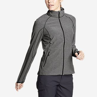 Women's Sandstone 2.0 Soft Shell Jacket in Gray