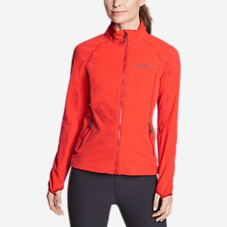 Women's Sandstone 2.0 Soft Shell Jacket in Red