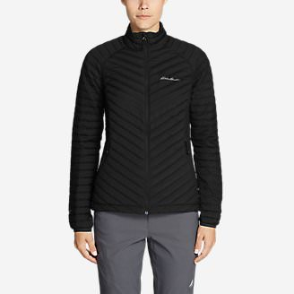 Women's MicroTherm Stretch Down Jacket in Black