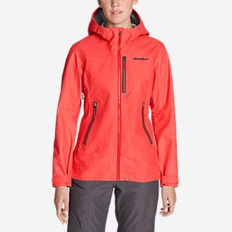 Women's BC DuraWeave Alpine Jacket in Red