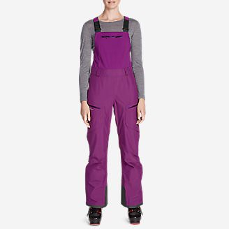 Women's BC Fineline Bib in Purple