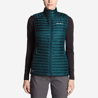 Women's MicroTherm 2.0 StormDown Vest in Green