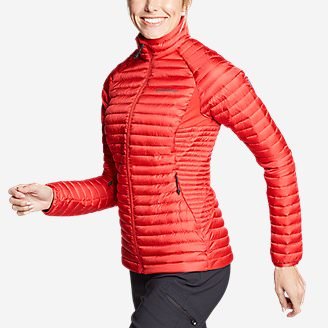 Women's MicroTherm 2.0 StormDown  Jacket in Red