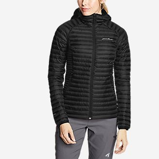 Women's MicroTherm 2.0 StormDown Hooded Jacket in Black