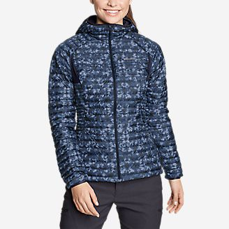 Women's MicroTherm 2.0 StormDown Hooded Jacket in Blue