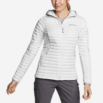 Women's MicroTherm® 2.0 StormDown® Hooded Jacket in White