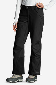 Women's Powder Search Insulated Pants in Black