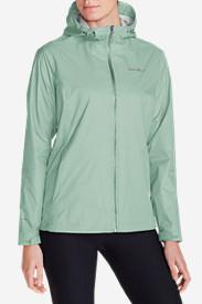 Women's Cloud Cap Lightweight Rain Jacket in Blue
