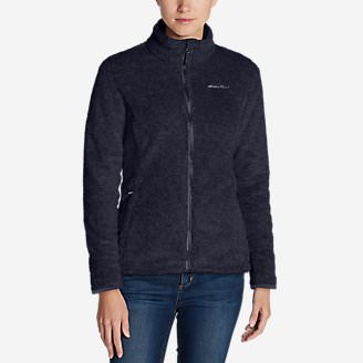 Women's Bellingham Fleece Jacket in Blue