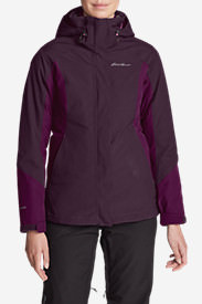 Women's Powder Search 2.0 3-In-1 Down Jacket in Purple