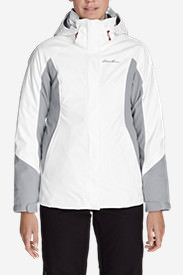 Women's Powder Search 2.0 3-In-1 Down Jacket in White