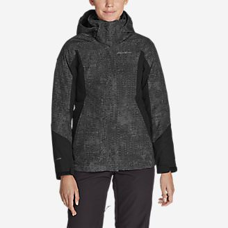 Women's Powder Search 2.0 3-In-1 Down Jacket in Gray