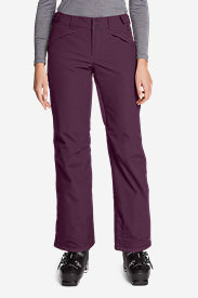 Women's Powder Search 2.0 Insulated Pants in Purple