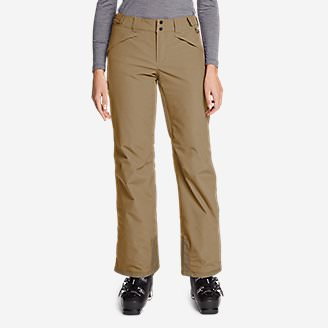 Women's Powder Search 2.0 Insulated Pants in Beige